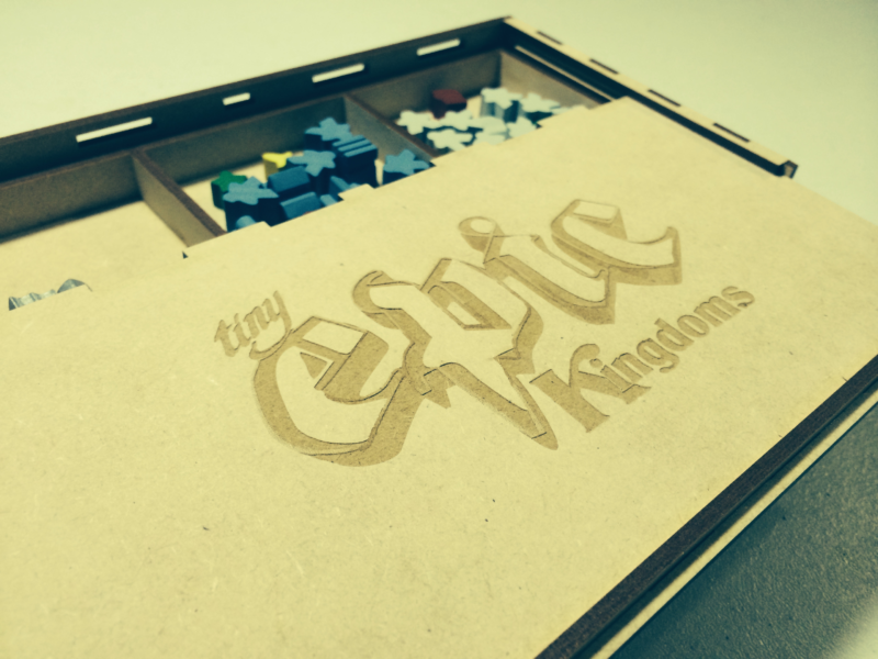 Tiny Epic Kingdoms storage chest